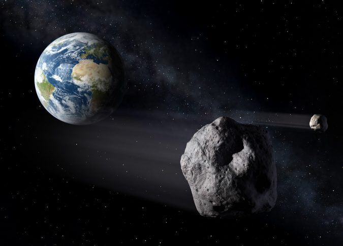 Asteroids_passing_Earth-675x485 14 Unusual Facts about Earth Can't Be Found Anywhere Else