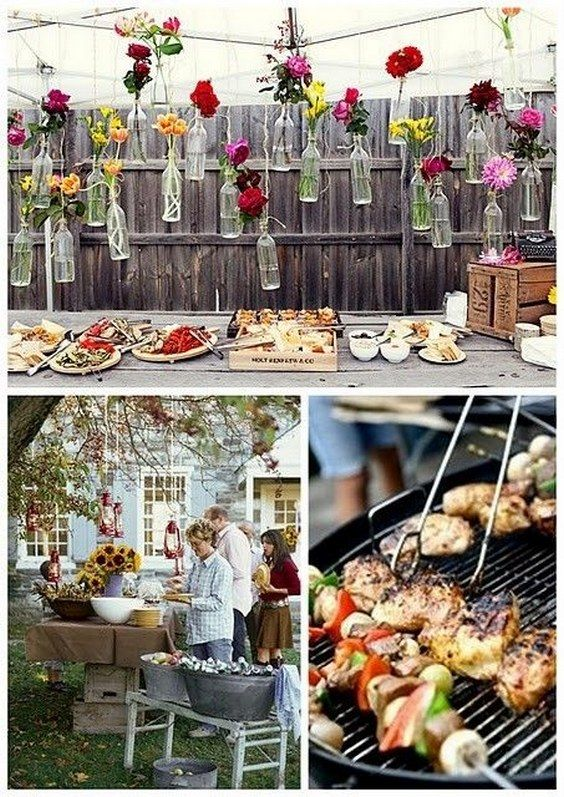 BBQ-Reception-Ideas-2 How to Host Your Wedding at Your Home