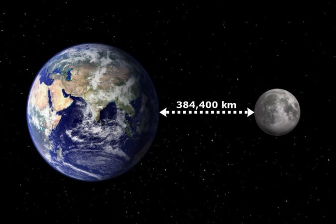 Earth-moon-distance-675x450 14 Unusual Facts about Earth Can't Be Found Anywhere Else