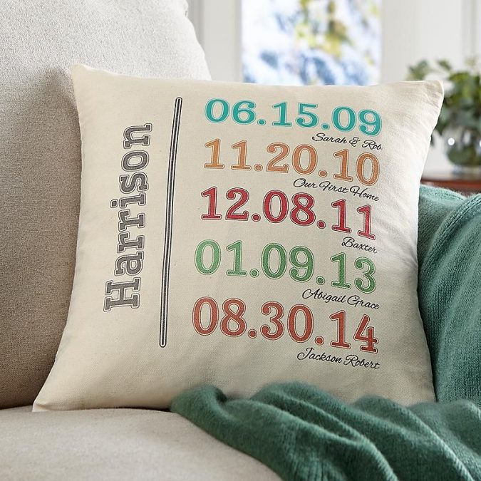 Family-history-throw-pillows-675x675 Top 15 Creative Mother's Day Gift Ideas