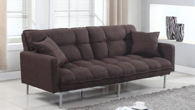 Futon-390x220 5 Tips to Modernize Your Living Room with a Sofa