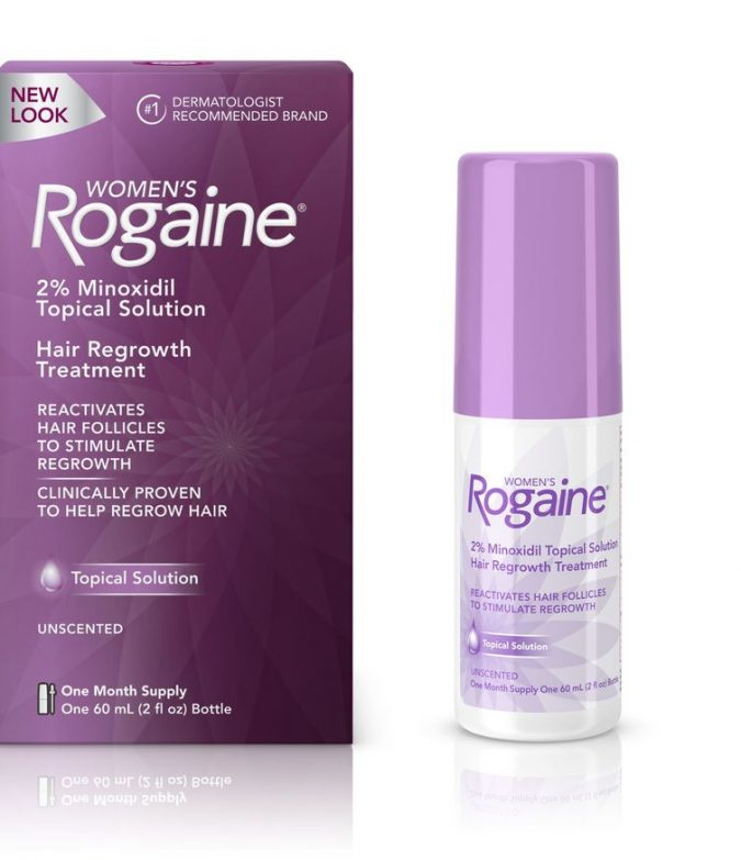 Minoxidil-Rogaine-675x783 Available Treatments for The Stressful Issue of Hair Loss