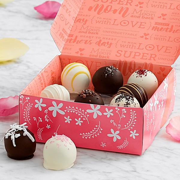 Red-velvet-cake-truffles. Top 15 Creative Mother's Day Gift Ideas