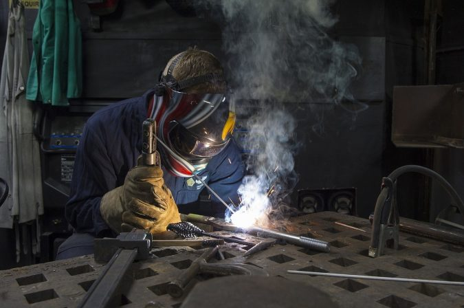 Shielded-metal-arc-welding-2-675x448 Welding Basics: 5 Most Important Things to Know If You Want to Weld Properly
