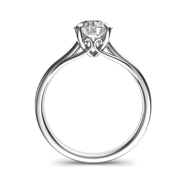 Solitaires-Rule 7 Hottest Engagement Ring Trends
