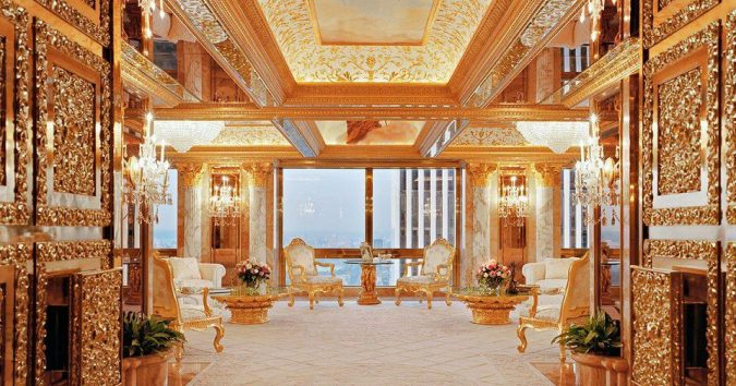 Trump-Penthouse-on-the-68th-Floor-675x354 Top 10 Most Expensive and Unusual Things Owned By American President Trump
