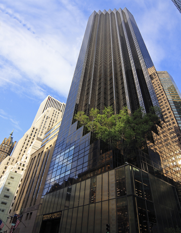 Trump-Tower-Building-in-Manhattan-1 Top 10 Most Expensive and Unusual Things Owned By American President Trump
