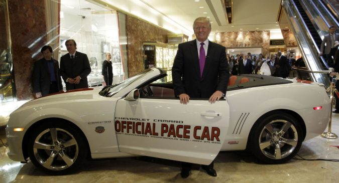 Trump-car-2011-Chevrolet-Camaro-Indianapolis-500-Pace-675x365 Top 10 Most Expensive and Unusual Things Owned By American President Trump