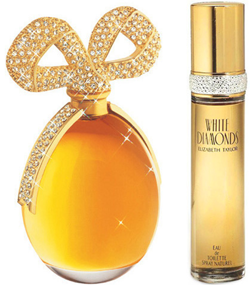 White-diamonds 10 Most Favorite Perfumes of Celebrity Women