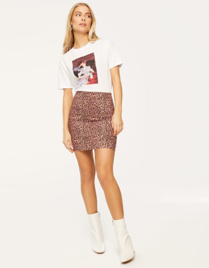 animal-peinted-skirt-675x866 12 Fashion Trends of Summer and How to Style Them
