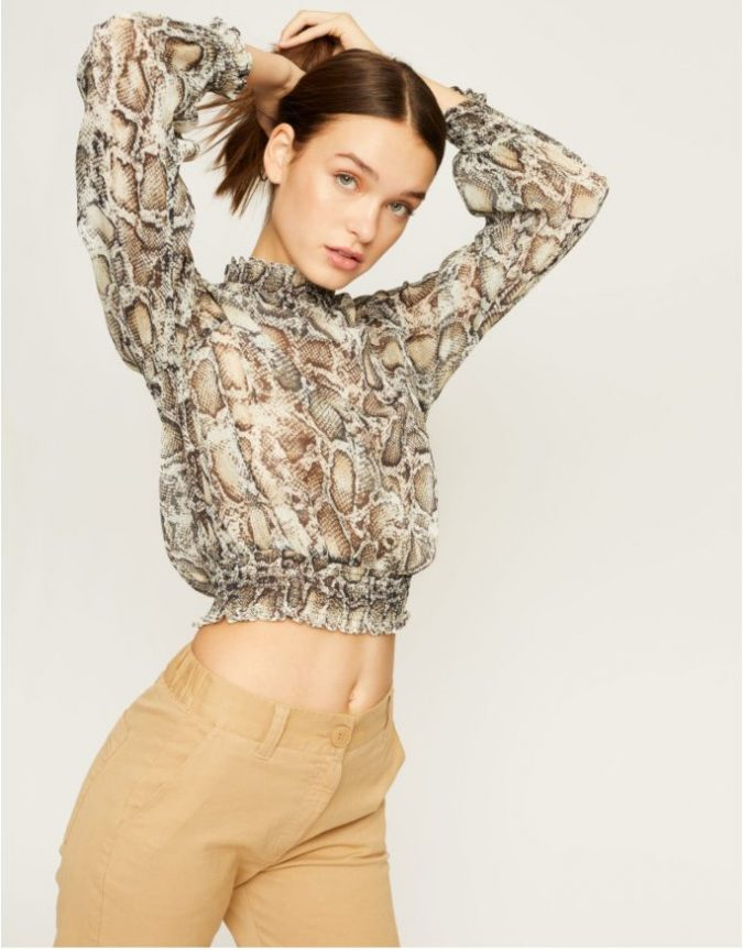 animal-printed-crop-top-e1555617695540-675x863 Children's Fashion 2019: Trends for Girls and Boys