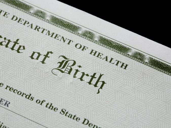 birth-certificate-675x506 California Birth Certificates Now Recognize a Third Gender Option