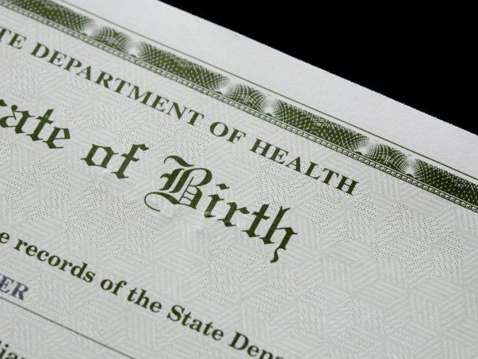 birth-certificate-675x506 California Birth Certificates Now Recognize a Third Gender Option