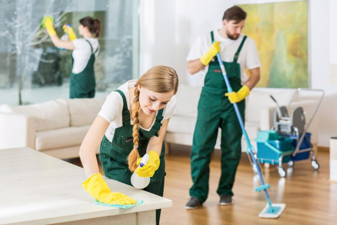 cleaning-service.-675x450 How to Host Your Wedding at Your Home