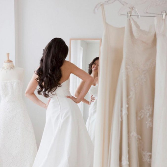 shopping-for-a-wedding-dress-675x675 5 Important Considerations to Make Before Buying Your Wedding Dress