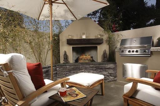small-patio-garden. Living a More Comfortable Outdoor Lifestyle
