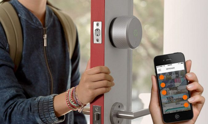 smart-home-Keyless-lock-675x405 Technology Upgrades to Make Your Home More Secure