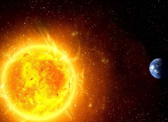 sun-earth-675x490 Top 10 Unusual Solar System Facts Found Recently