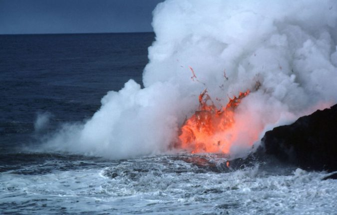 water-and-volcano-in-hawaii-675x431 Top 10 Unusual Solar System Facts Found Recently