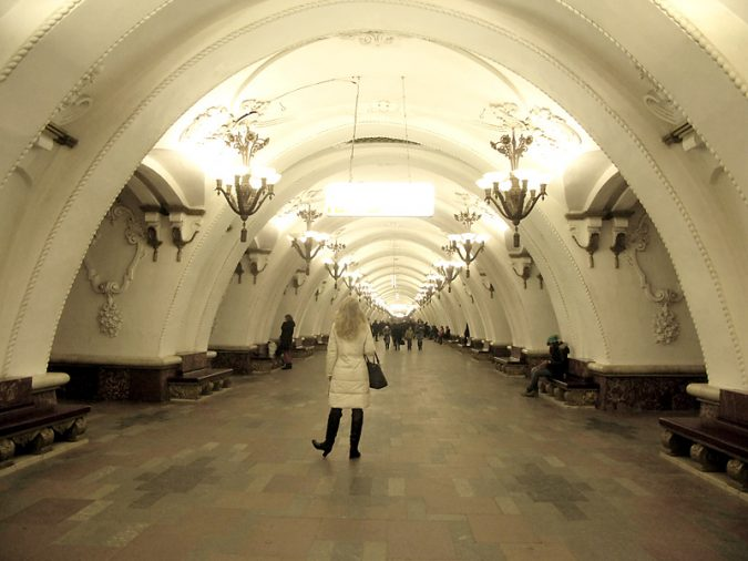 Arbatskaya-metro-station-in-Moscow-Russia-675x506 8 Best Travel Destinations in June