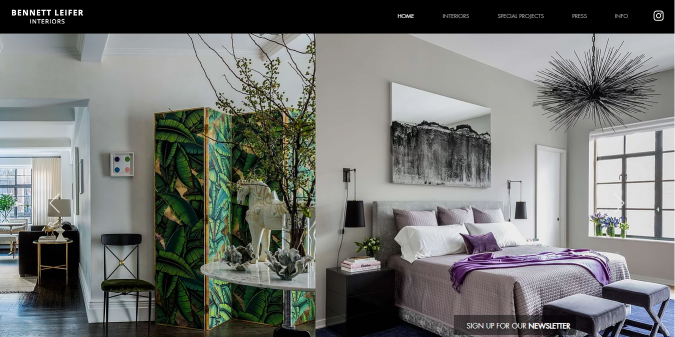 Bennett-Leifer-interior-design-decor-website-675x337 Best 50 Home Decor Websites to Follow in 2019