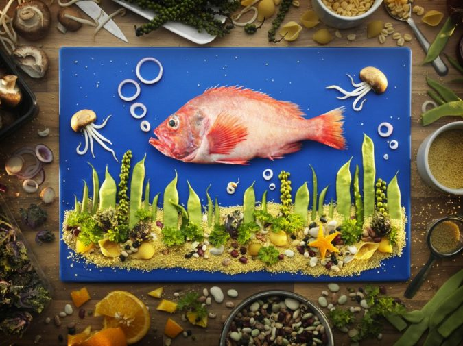 Carl-Warner-Stunning-landscapes-made-of-food-675x505 Top 10 Best Food Artists in the World in 2019
