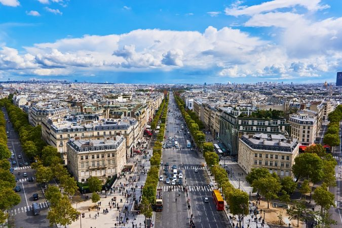 Champs-Elysées-in-France-675x450 8 Best Travel Destinations in June