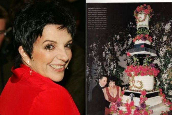 David-Gest-and-Liza-Minnelli's-Towering-wedding-Cake-675x450 Top 10 Most Expensive Wedding Cakes Ever Made