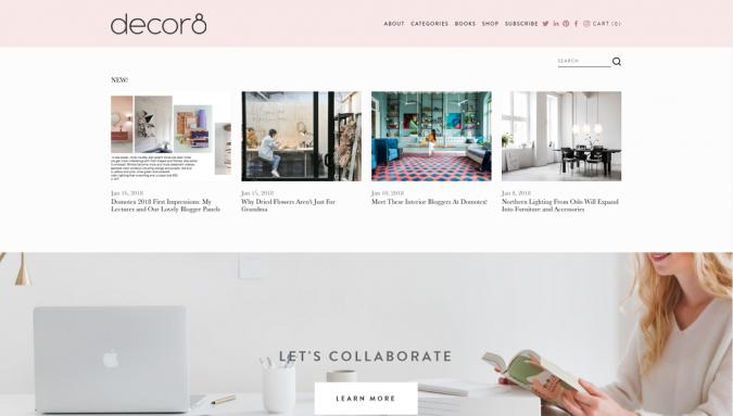 Decor8-Design-Blog-Interior-design-675x383 Best 50 Home Decor Websites to Follow in 2020