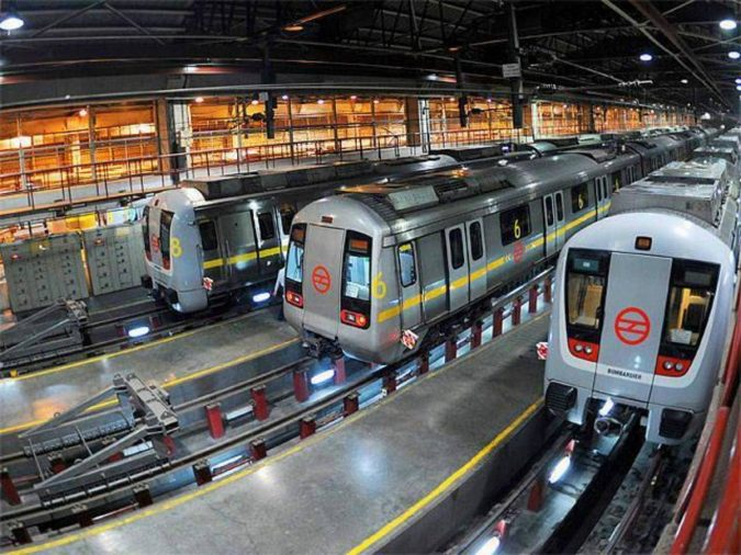 Delhi-Metro-675x506 Saving Nature: Best 10 Eco-Friendly Transport Types