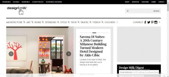 Design-Milk-online-Magazine-interior-design-decor-website-675x310 Best 50 Home Decor Websites to Follow in 2020