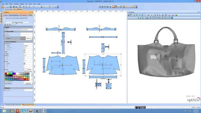 EFI-Optitex-handbag-designing-675x380 Top 10 Best Fashion Handbag Design Software