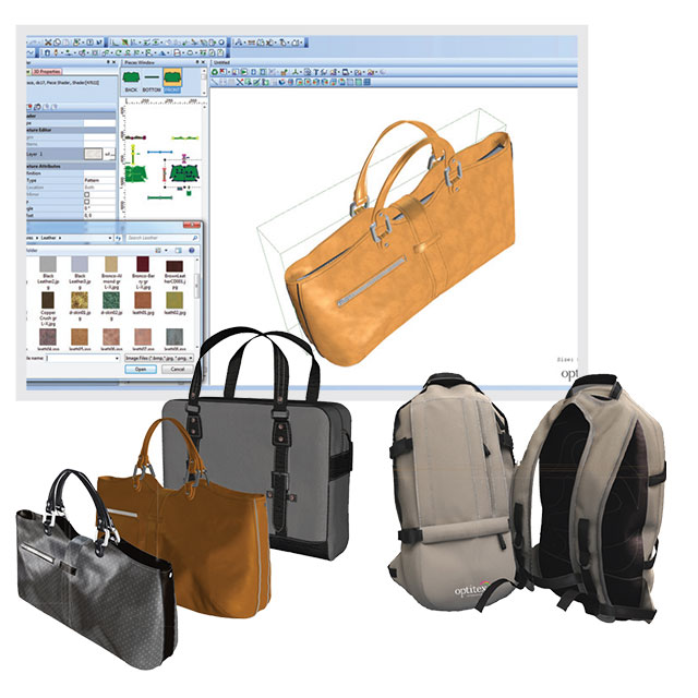 EFI-Optitex-handbag-designing. Top 10 Best Fashion Handbag Design Software