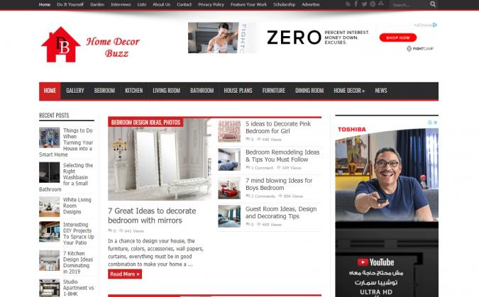 Home-Decor-Buzz-website-interior-design-675x419 Best 50 Interior Design Websites and Blogs to Follow in 2020