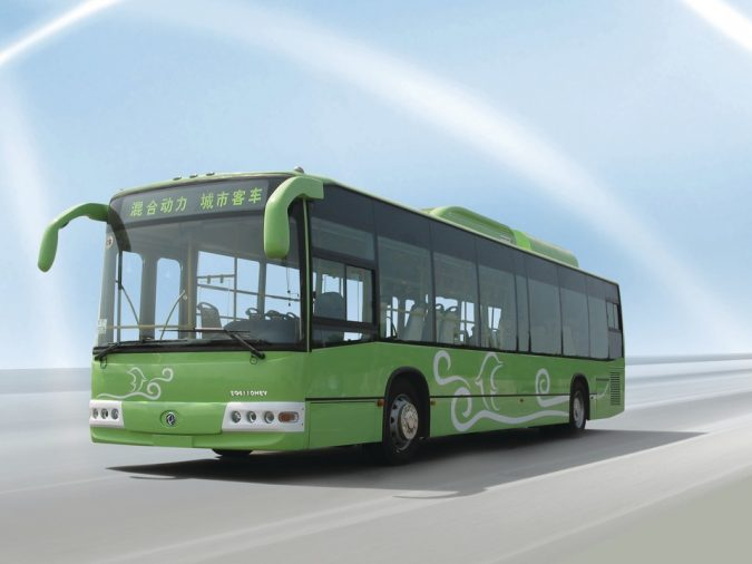 Hybrid-Electric-Bus-675x506 Saving Nature: Best 10 Eco-Friendly Transport Types