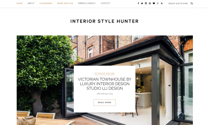 Interior-Style-Hunter-website-interior-design-675x405 Best 50 Interior Design Websites and Blogs to Follow in 2019