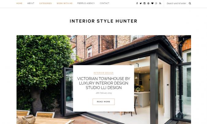 Interior-Style-Hunter-website-interior-design-675x405 Best 50 Interior Design Websites and Blogs to Follow in 2020