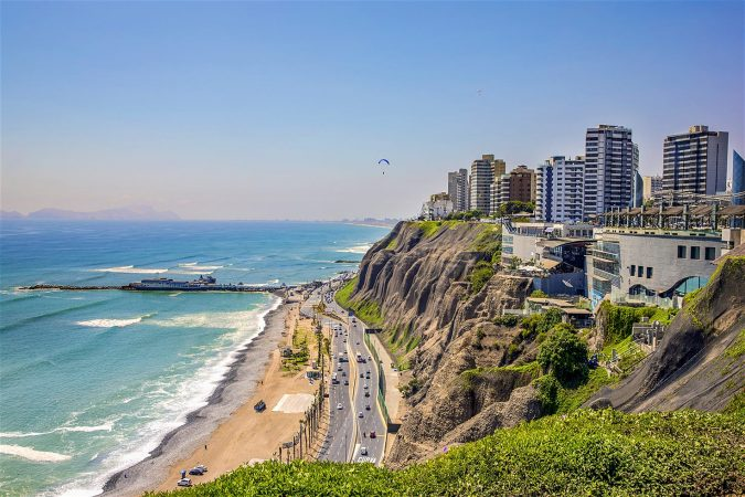 Lima-coast-in-Peru-675x450 8 Best Travel Destinations in June