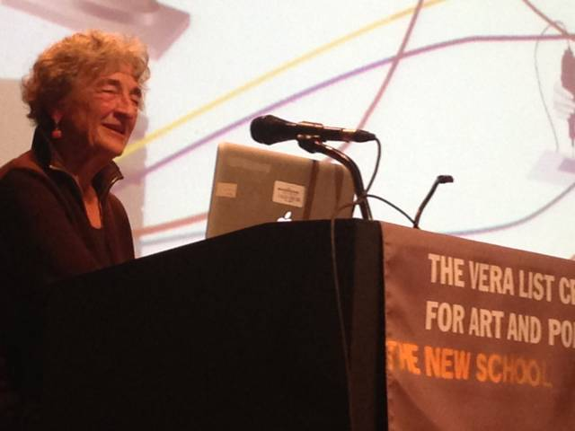 Lucy-Lippard Top 10 Best Arts and Culture Journalists in the World
