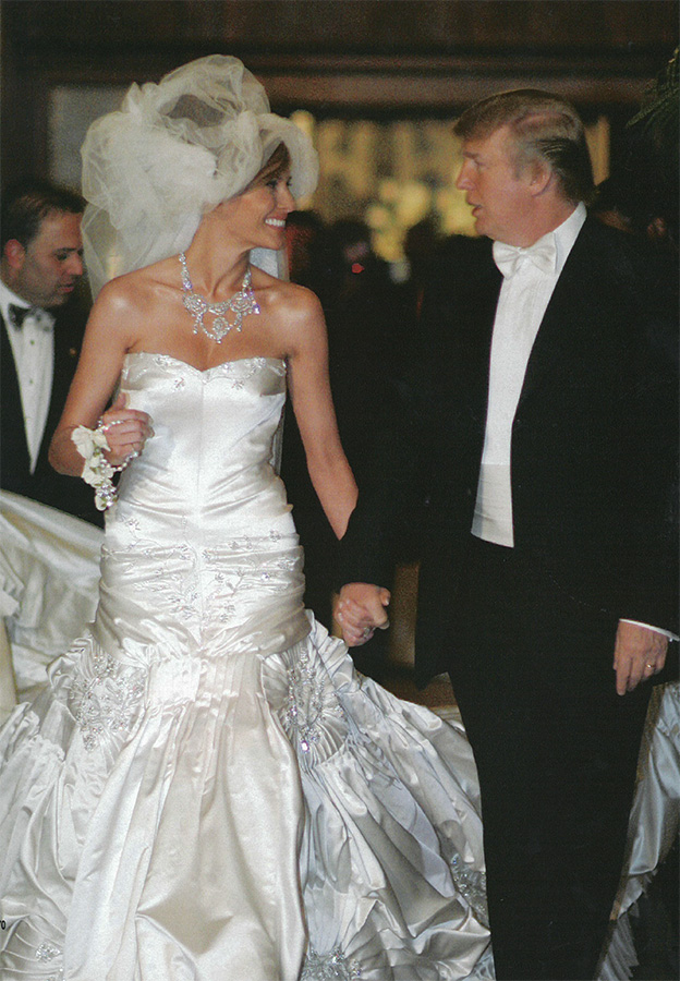 Melanie-and-Donald-Trump-Wedding-2 Top 10 Most Expensive Wedding Cakes Ever Made
