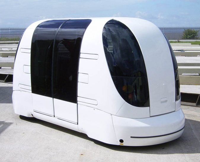 PRT-Pod-Car-675x545 Saving Nature: Best 10 Eco-Friendly Transport Types
