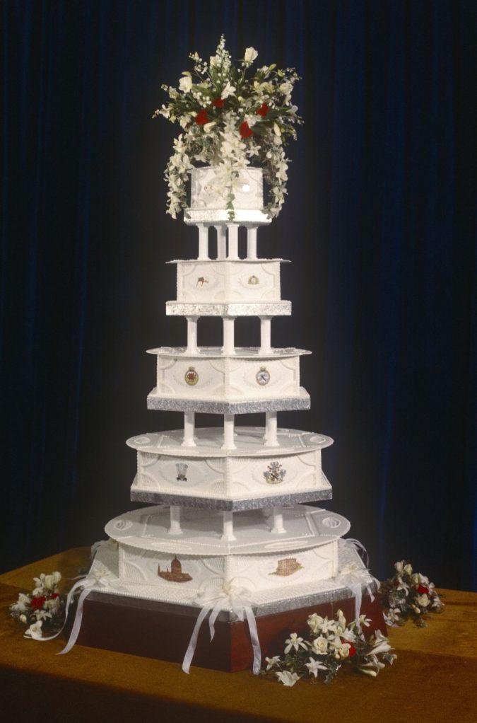 Princess-Diana-wedding-cake-675x1022 Top 10 Most Expensive Wedding Cakes Ever Made