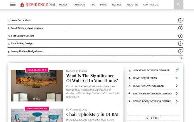 Residence-Style-website-interior-design-675x424 Best 50 Interior Design Websites and Blogs to Follow in 2020