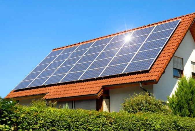 Solar-Panel-On-A-Red-Roof-675x452 10 Reasons You Must Change to Solar Energy
