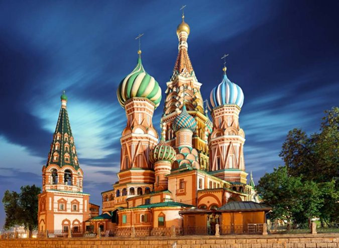 St-Basil's-Cathedral-Moscow-Russia-675x493 8 Best Travel Destinations in June