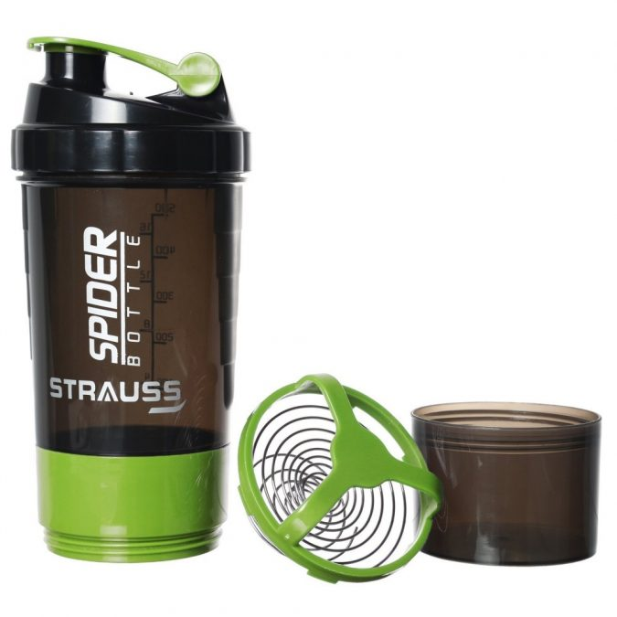 Strauss-Spider-Shaker-Bottle-2-675x675 10 Best-Selling Fitness Products to Get Fit in 2019 .. [By Pouted.com]