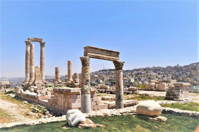 The-Amman-Citadel-in-Jordan-675x448 8 Best Travel Destinations in June