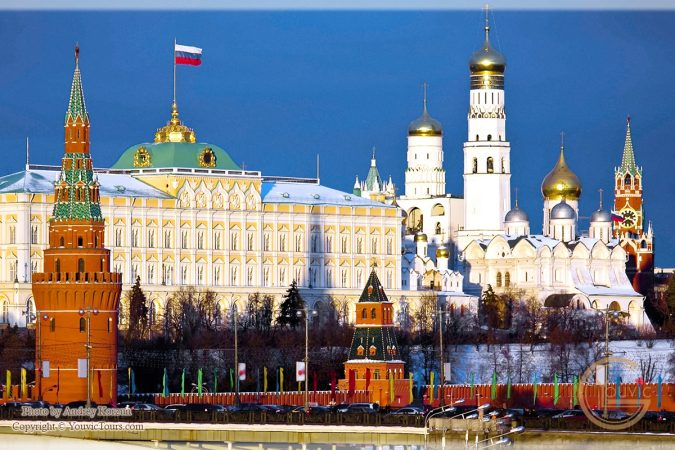 The-Kremlin-Moscow-Russia-675x450 8 Best Travel Destinations in June
