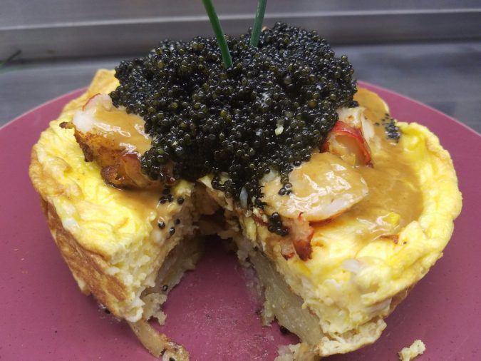 Zillion-Dollar-Lobster-Frittata-2-675x506 10 Most Luxury Dishes Only for Billionaires