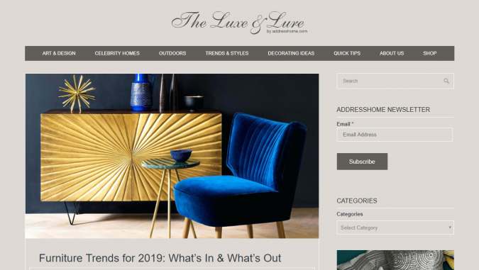 adresshome-website-interior-design-675x381 Best 50 Interior Design Websites and Blogs to Follow in 2019